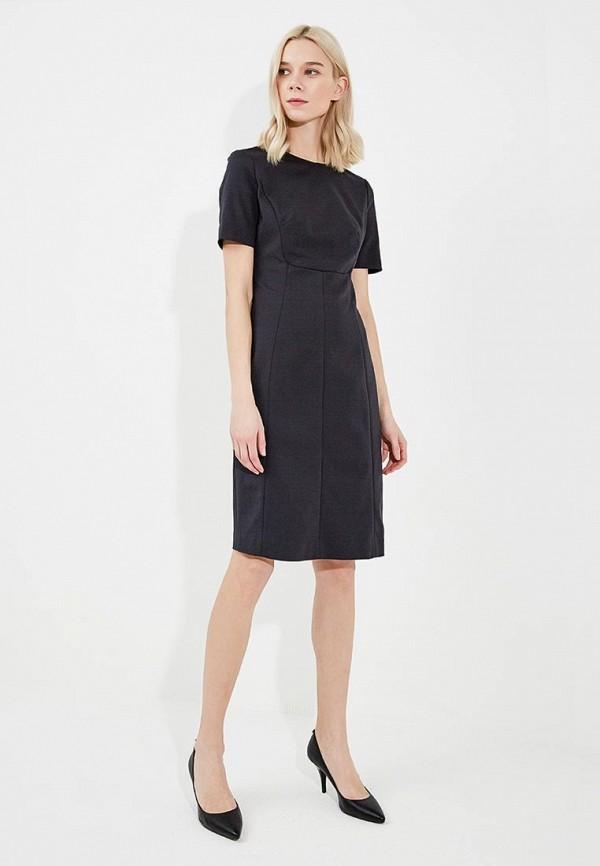 Фото 2 - женское платье Emporio Armani черного цвета