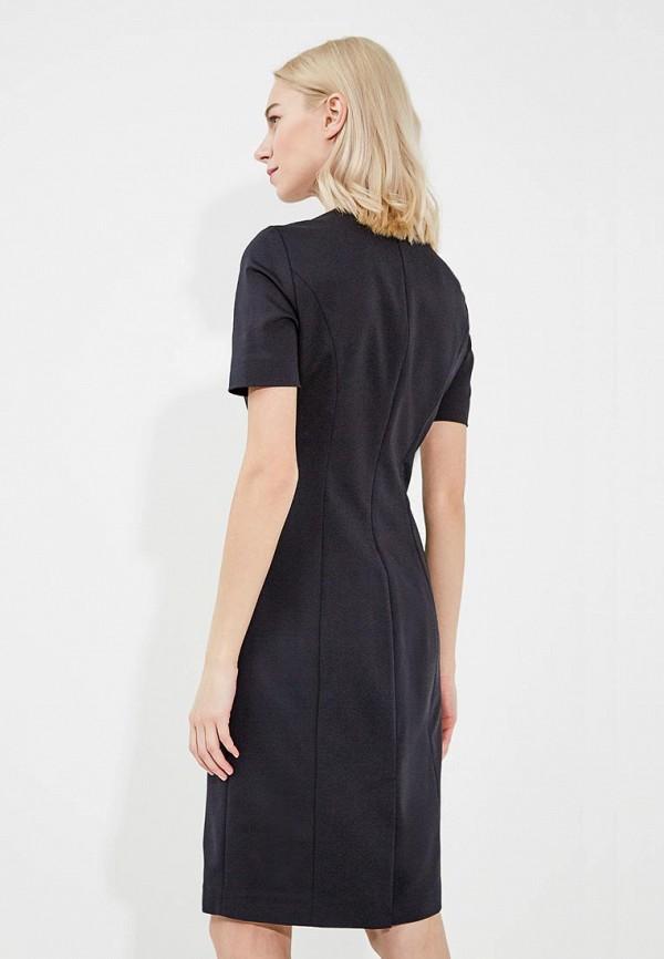 Фото 3 - женское платье Emporio Armani черного цвета