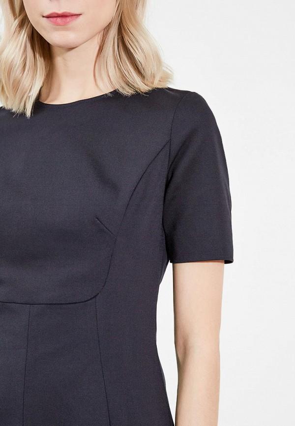 Фото 4 - женское платье Emporio Armani черного цвета
