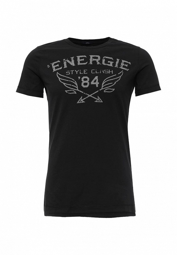 Футболка с надписями Energie Lang_5E1900_JE9B58_G06001