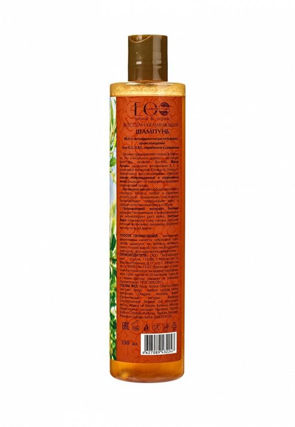 Шампунь EO laboratorie Питательный ARGANA SPA для волос Объем и Глубокое восстановление для тонких  волос, 300 мл