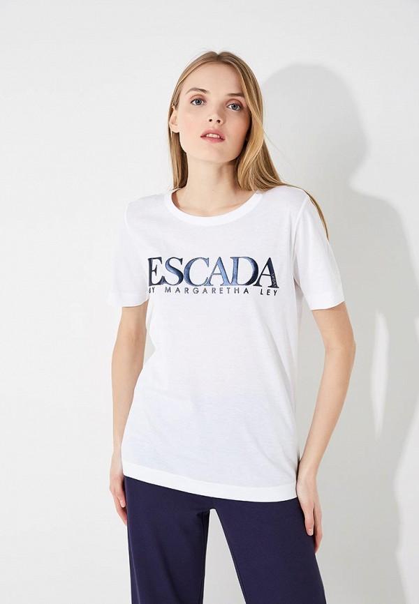 Футболка Escada Sport Escada Sport ES006EWAEHP9 водолазка escada sport escada sport es006ewtku33