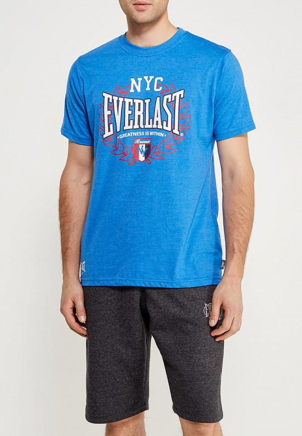 Футболка Everlast Everlast EV001EMZYR85 свитшот everlast everlast ev001emuzd58
