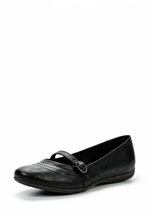 Туфли на плоской подошве Evans 20B07VBLK