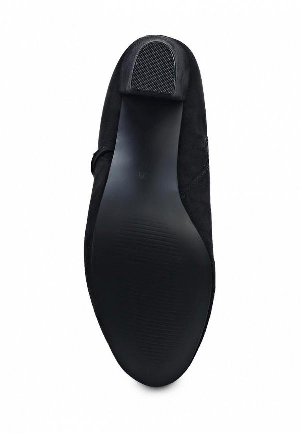 Фото 3 - женские ботильоны Exquily черного цвета