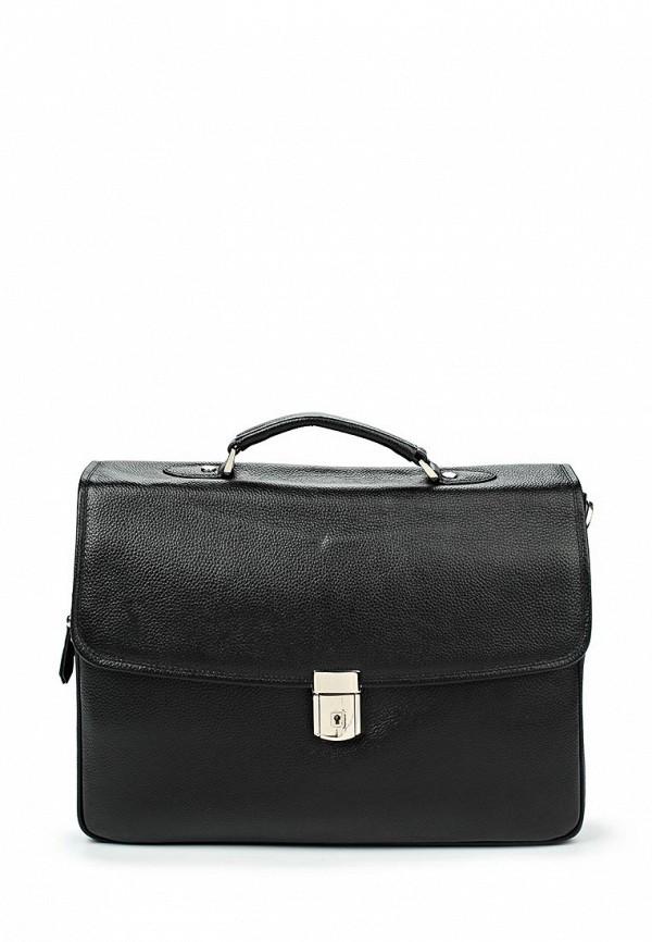 Кожаная сумка Fabretti LRB133-black