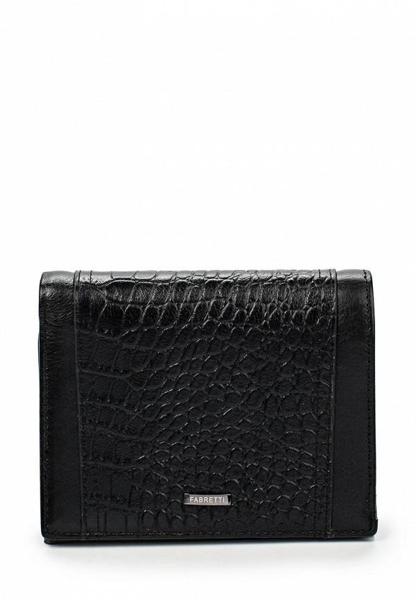 Кошелек Fabretti 46005-black cocco