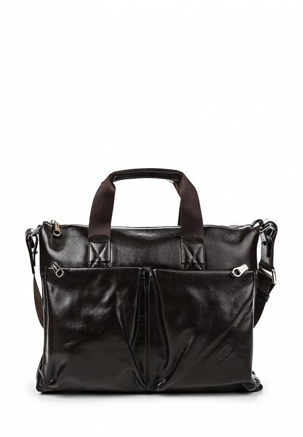 Кожаная сумка Fabretti S5035-brown