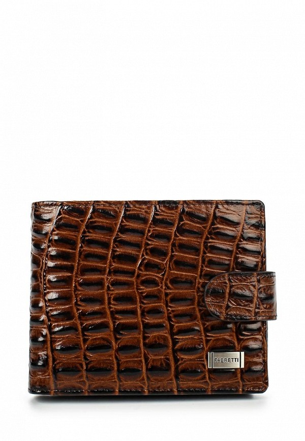 Кошелек Fabretti 36003-brown cocco