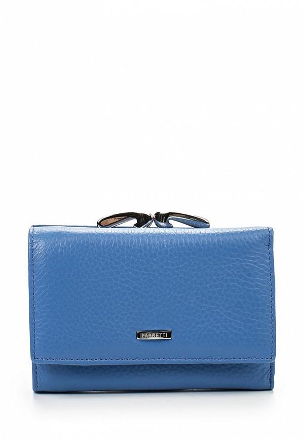 Кошелек Fabretti 46001-blue