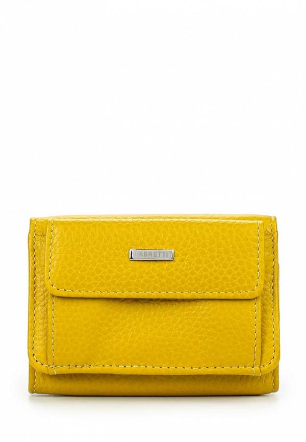 Кошелек Fabretti FA011-yellow