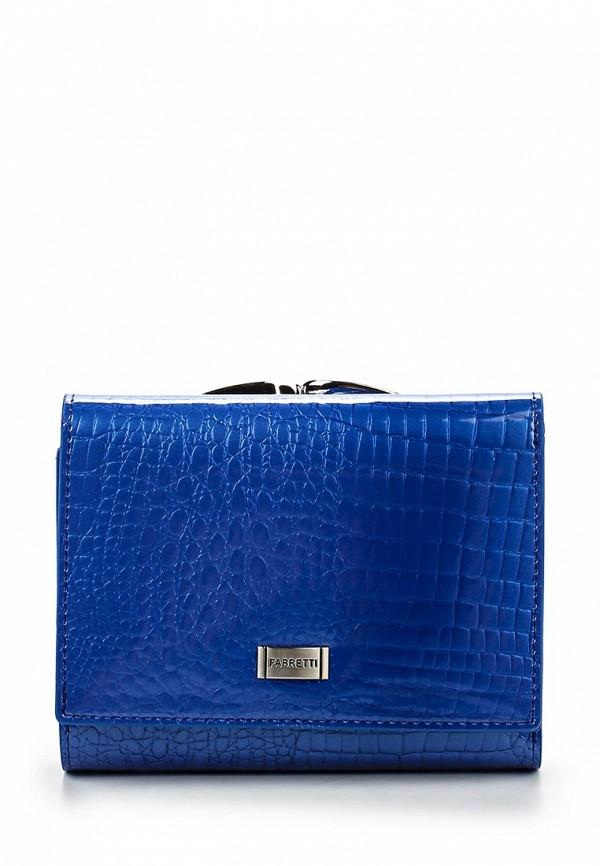 Кошелек Fabretti 47009-blue cocco L