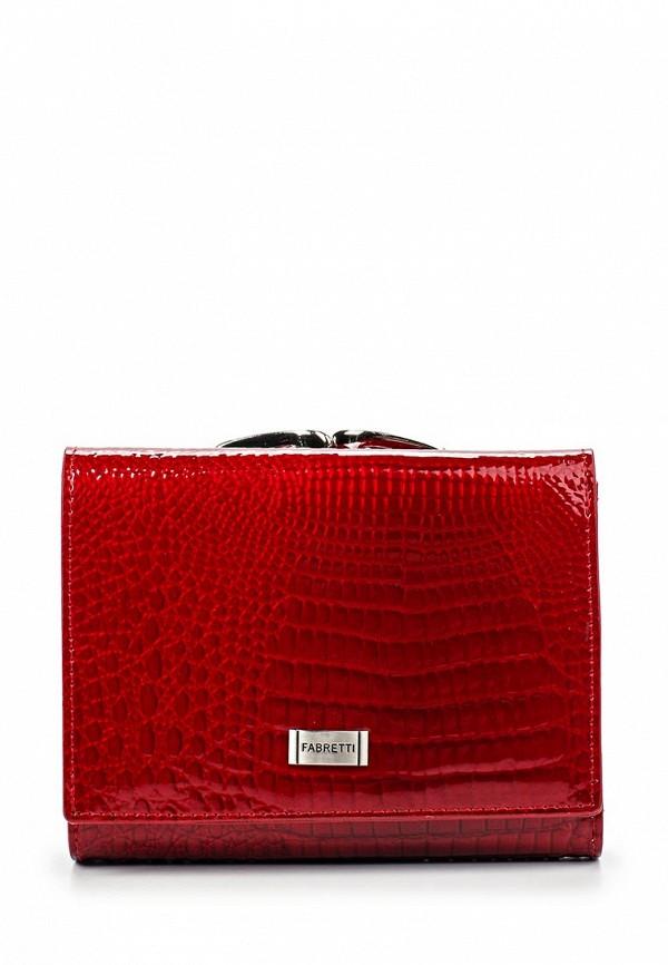 Кошелек Fabretti 47009-red cocco L