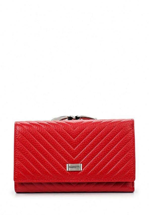 Кошелек Fabretti 55020-red print