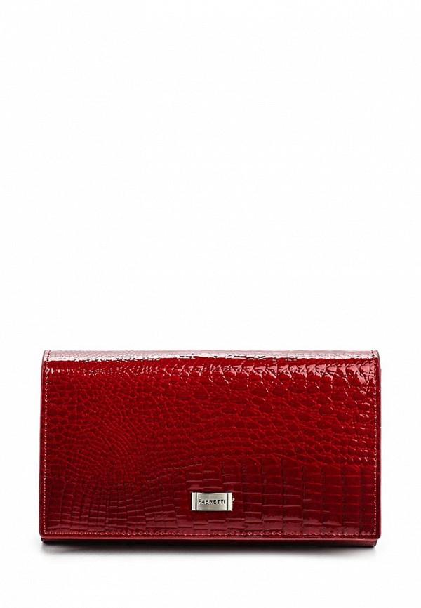Кошелек Fabretti 60001-red cocco L