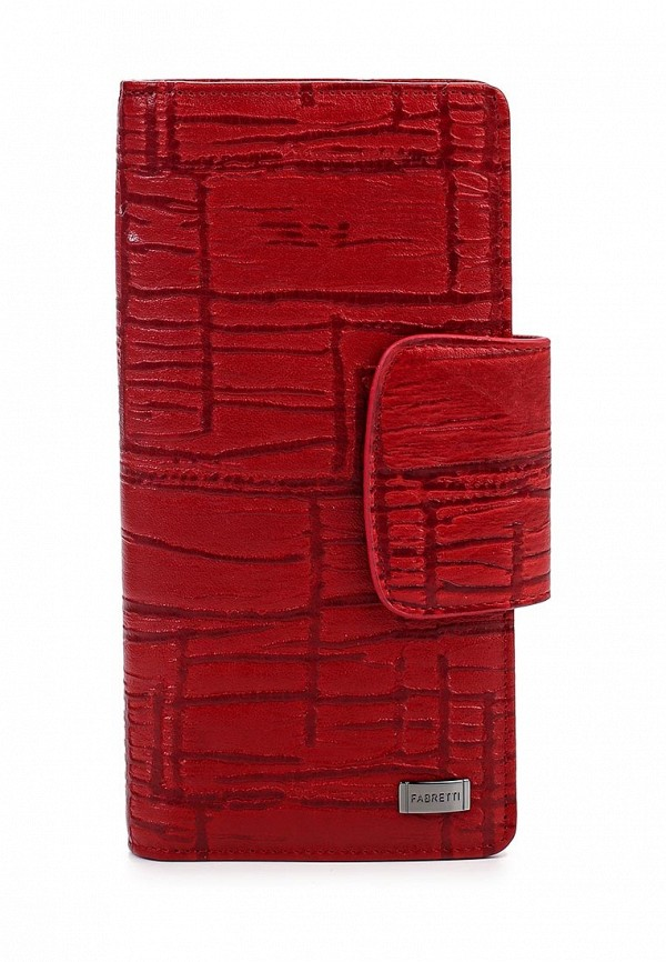 Кошелек Fabretti 76005-red/black