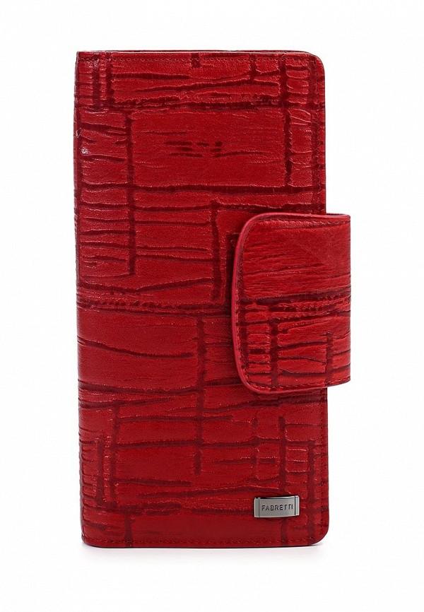 Кошелек Fabretti 76005-red/black