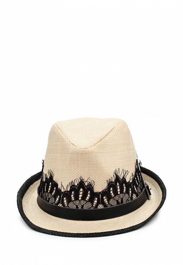 Шляпа Fabretti GL17-3/2 beige black Шляпа