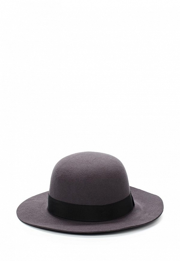 Шляпа Fabretti. Цвет: серый