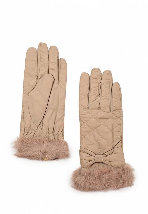 Женские перчатки Fabretti 27.12-5 beige