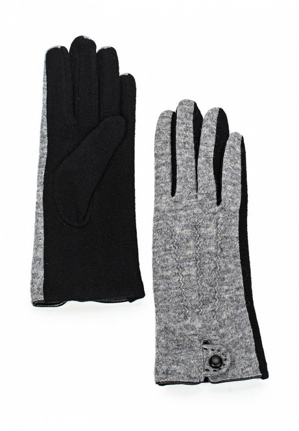 Женские перчатки Fabretti HB2016-7-black/grey