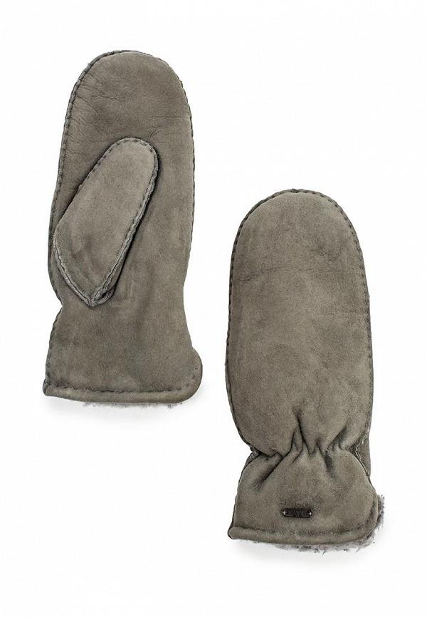 Женские варежки Fabretti 25.4-9 grey