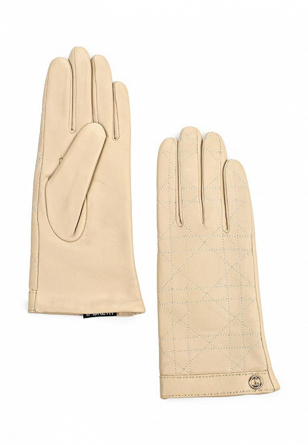 Женские перчатки Fabretti 9.61-5 beige
