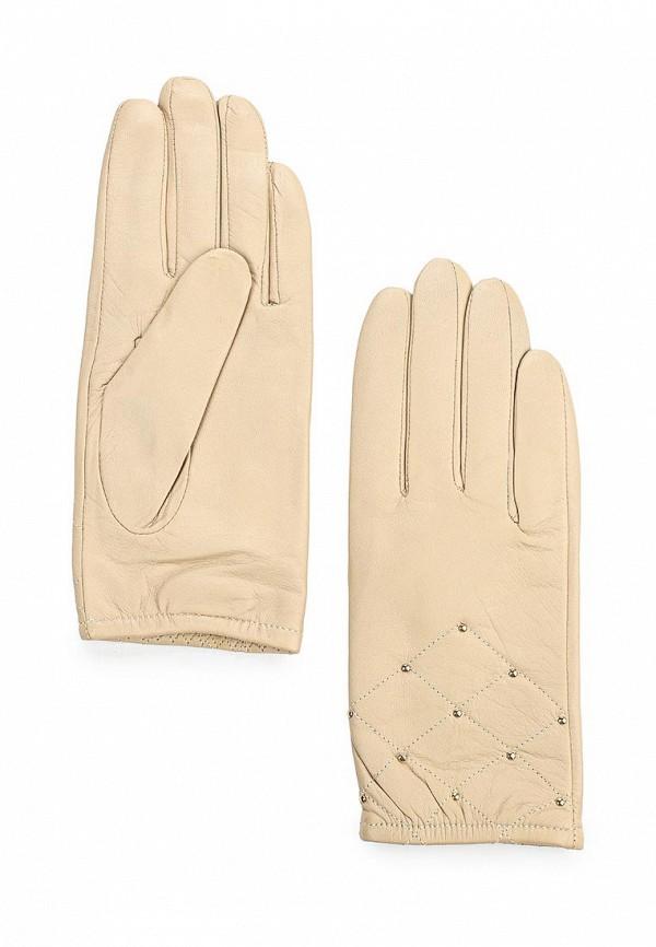 Женские перчатки Fabretti 9.81-5 beige