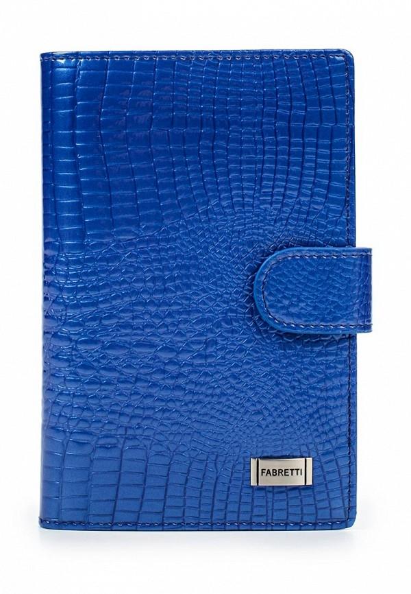 Обложка для документов Fabretti 54038-blue cocco L