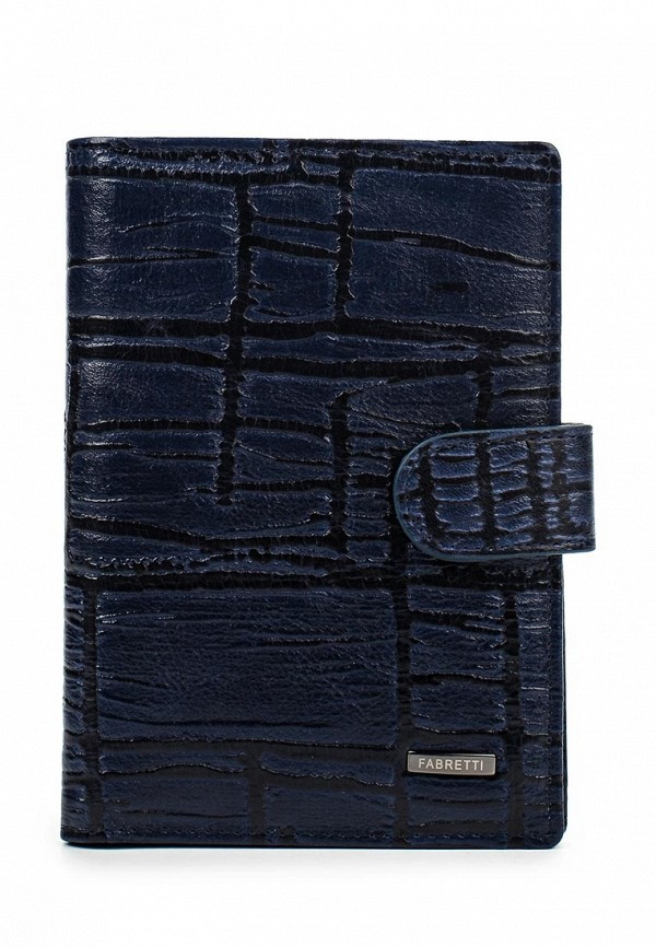 Обложка для документов Fabretti 54019-blue/black