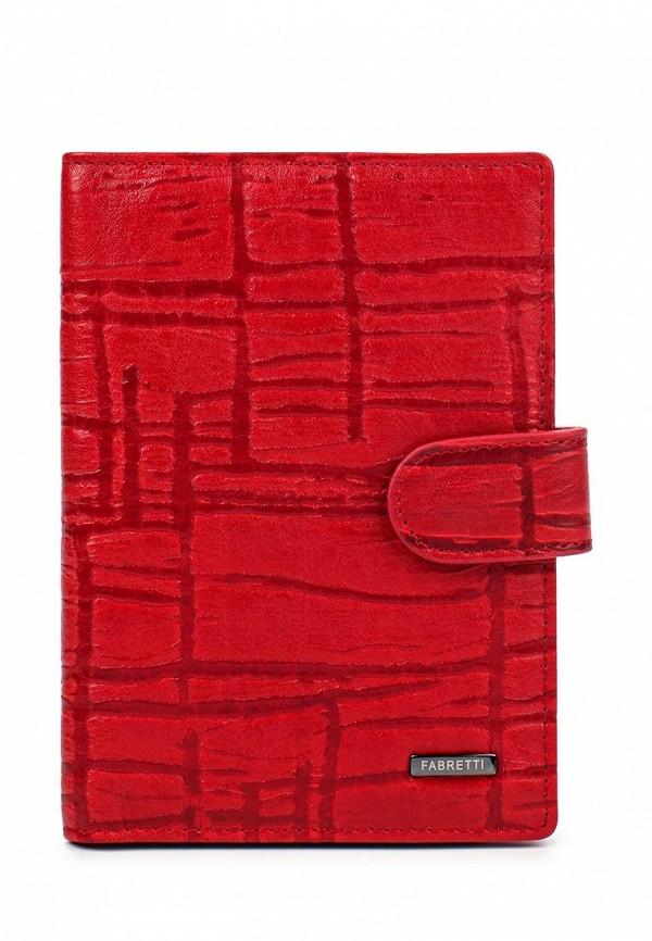 Обложка для документов Fabretti 54019-red/black