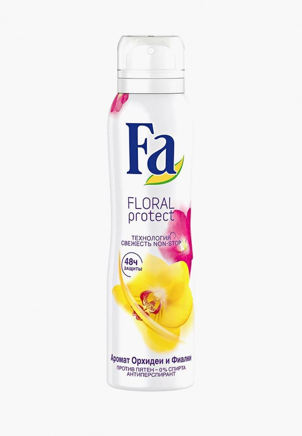Купить Дезодорант Fa, антиперспирант аэрозоль Floral Protect Орхидея & Фиалка, 150 мл, FA033LWJOH12, Весна-лето 2018