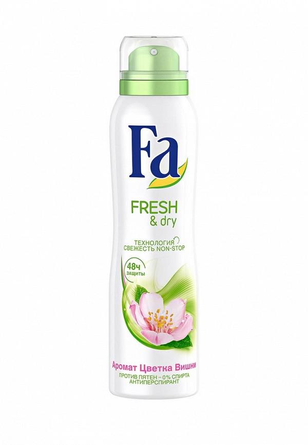 Дезодорант Fa антиперспирант аэрозоль Fresh&Dry Цветок Вишни, 150 мл