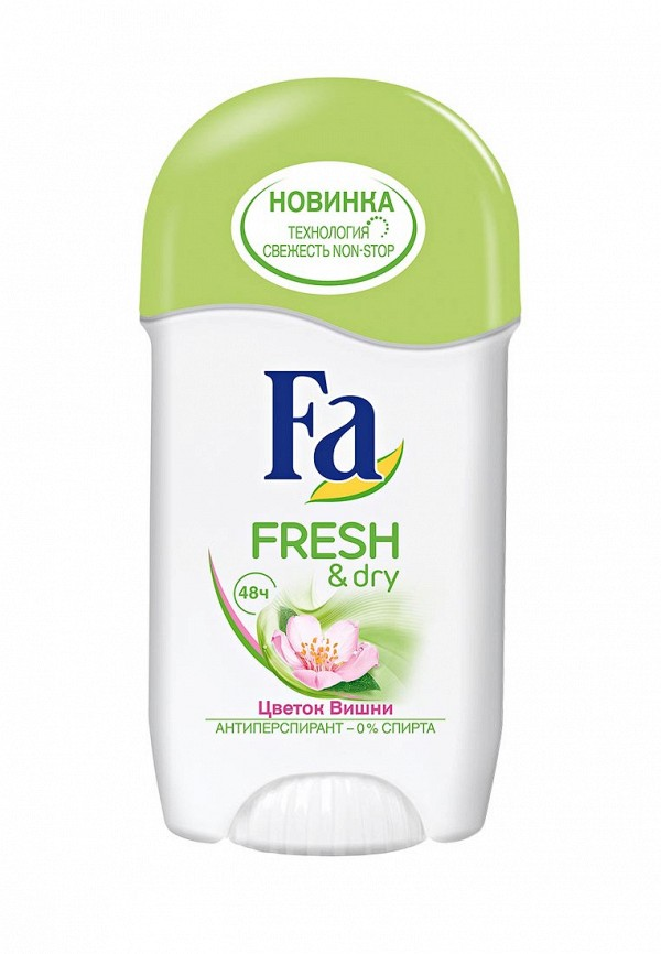 Дезодорант Fa антиперспирант стик Fresh&Dry Цветок Вишни, 50 мл