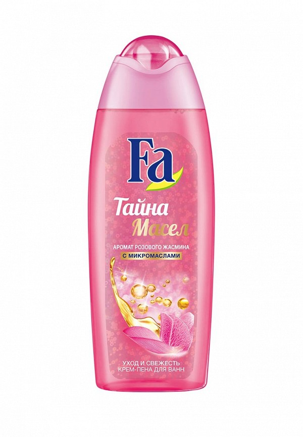 Крем-пена для ванн Fa Тайна масел Розовый жасмин, 500 мл