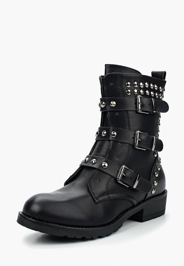 Фото 7 - Полусапоги Fashion & Bella черного цвета