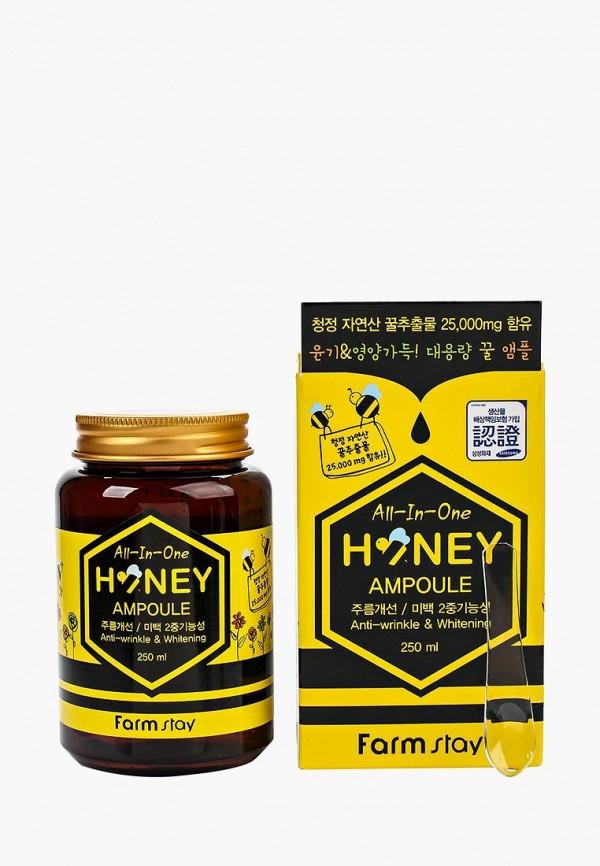 Купить Сыворотка для лица Farm Stay, Многофункциональная ампульная с медом, 250 мл, FA035LWOZM33, Весна-лето 2018
