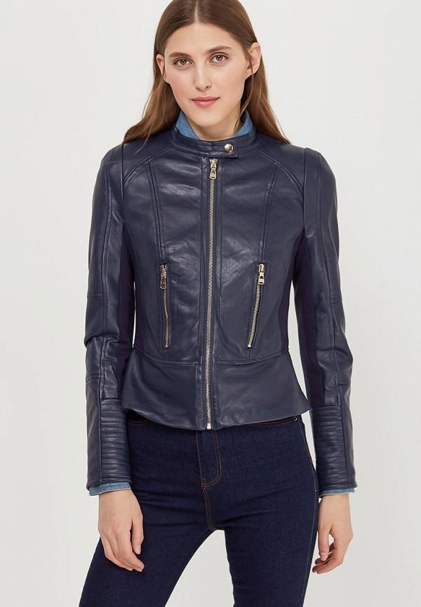 Купить Куртка кожаная Fascinate, FA042EWAWKR5, синий, Весна-лето 2018