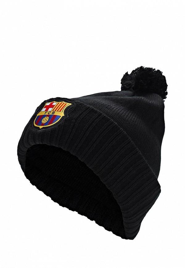 Шапка Atributika & Club™ FC Barcelona. Цвет: черный