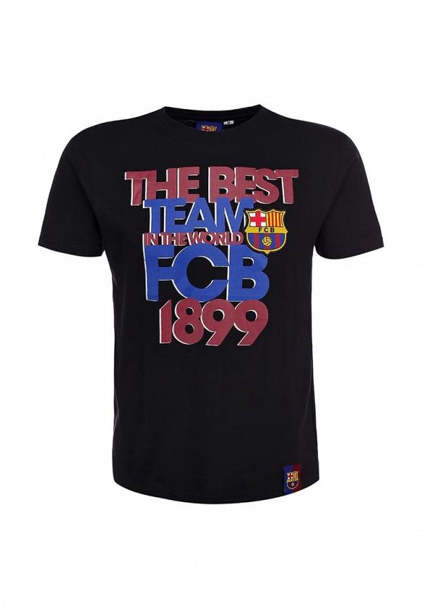Футболка Atributika & Club™ FC Barcelona. Цвет: черный