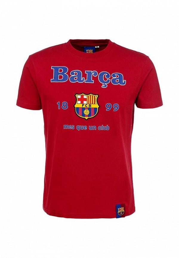 Футболка Atributika & Club™ FC Barcelona. Цвет: красный