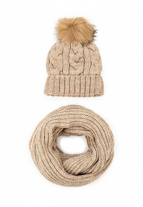 Комплект шапка и снуд Fete 409808