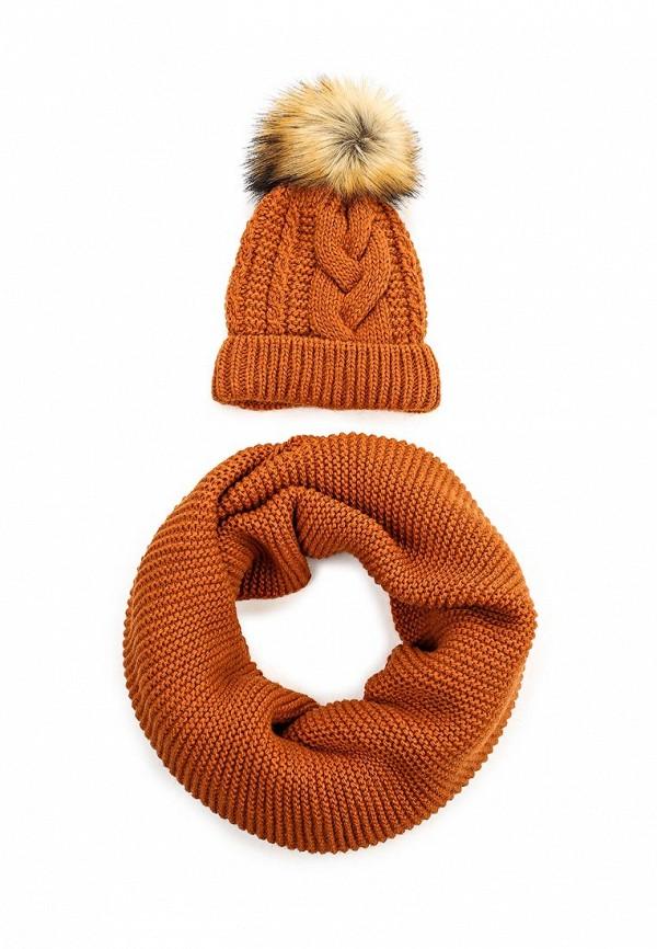 Комплект шапка и снуд Fete 410431
