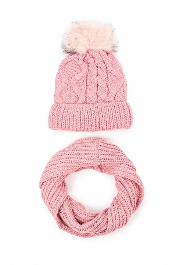 Комплект шапка и снуд Fete 410454