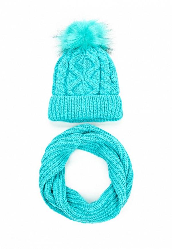 Комплект шапка и снуд Fete 410458