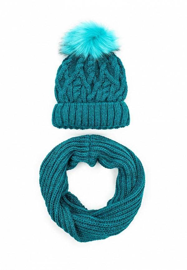 Комплект шапка и снуд Fete 410990