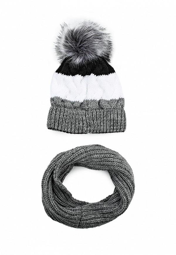 Комплект шапка и снуд Fete 411654