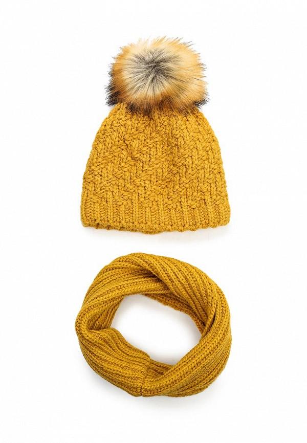 Фото Комплект шапка и снуд Fete. Купить с доставкой