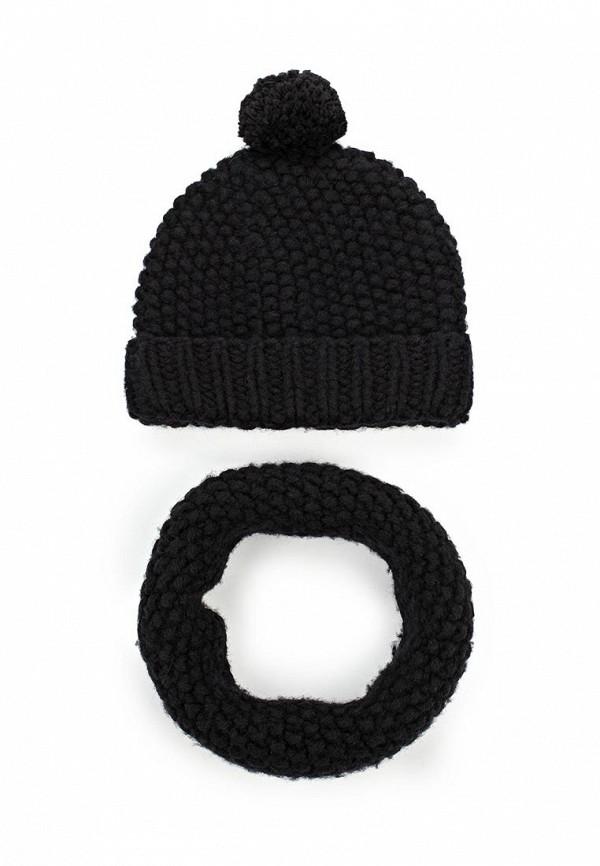 Комплект шапка и шарф снуд Fete 409854