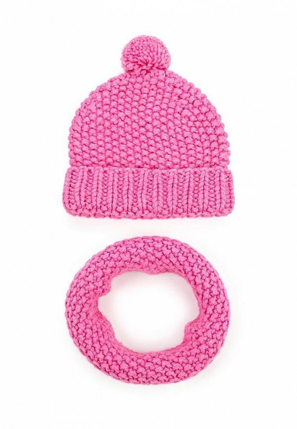 Комплект шапка и шарф снуд Fete 409858
